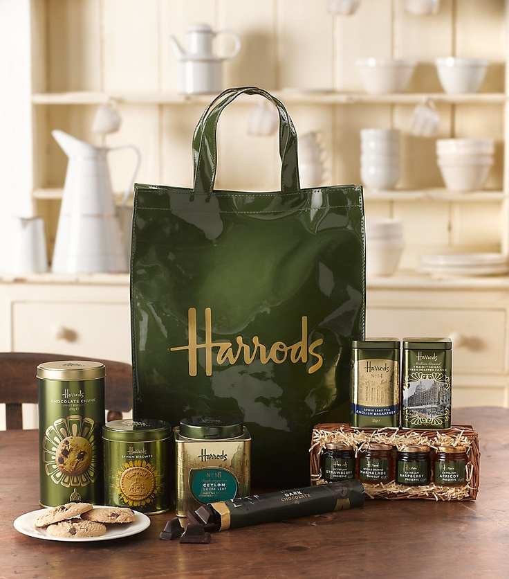 Harrods tea and jams - tea - jam - #Harrods #tea