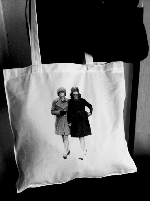 MasqueRaid Tote Bag by HoneysDead on Etsy, $15.00