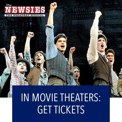 Newsies In Movie Theaters