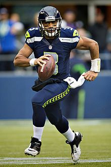Seattle Seahawks History *Russel Wilson pictured in home game uniform. 2012. GOOOO HAWKS ...SEE YOU AT THE SUPER BOWL 2014!!!!