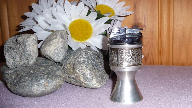 Vintage Norwegian H Pewter Lighter, Norway Tinn Antique Viking Astri Holte Scandinavian Collectible by Grandchildattic on Etsy