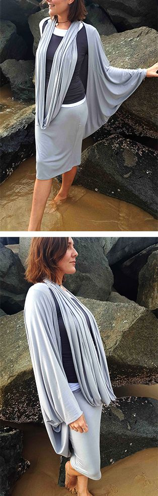 Gorgeously soft fabrics for Winter layering! Our ETHICAL + HANDMADE pieces feel so luxurious to wear + glide beautifully with your every move.  Our 'luxe' collection: Tube Skirt + Infinity Snood + Cocoon Cardigan. Shop these styles >> Online or visit our boutique in Noosa!   www.kobomo.com.au