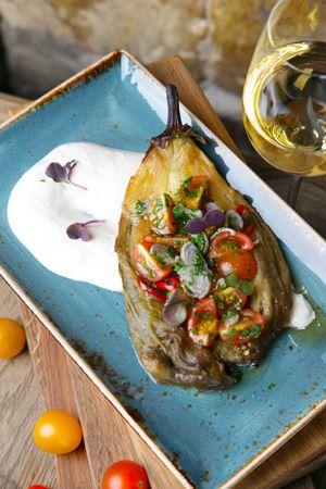 Запеченный баклажан с соусом и ризотто из тыквы: подробные рецепты