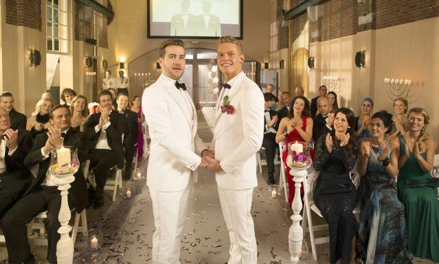 First soap gaymarriage in history. @ Goede Tijden, Slechte Tijden