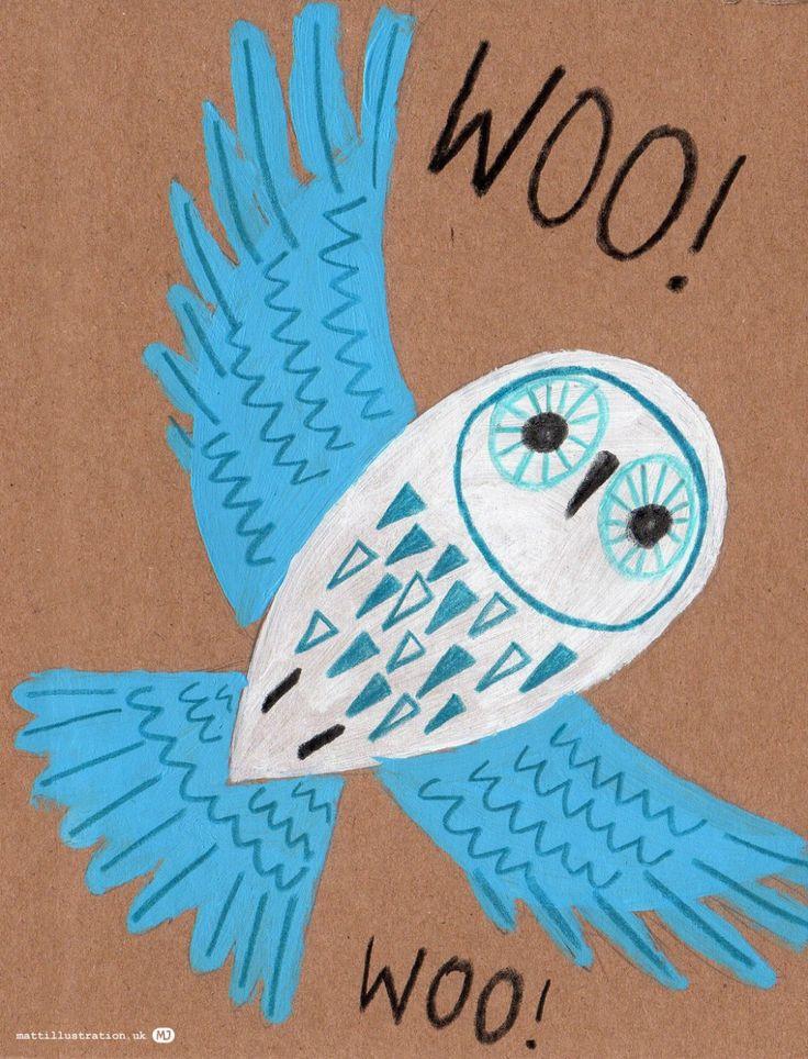 owl illustration by Matt Johnson