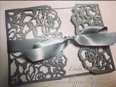 Video Tutorial: Making an Elegant card with the Detailed Floral Thinlit dies from Stampin'Up!