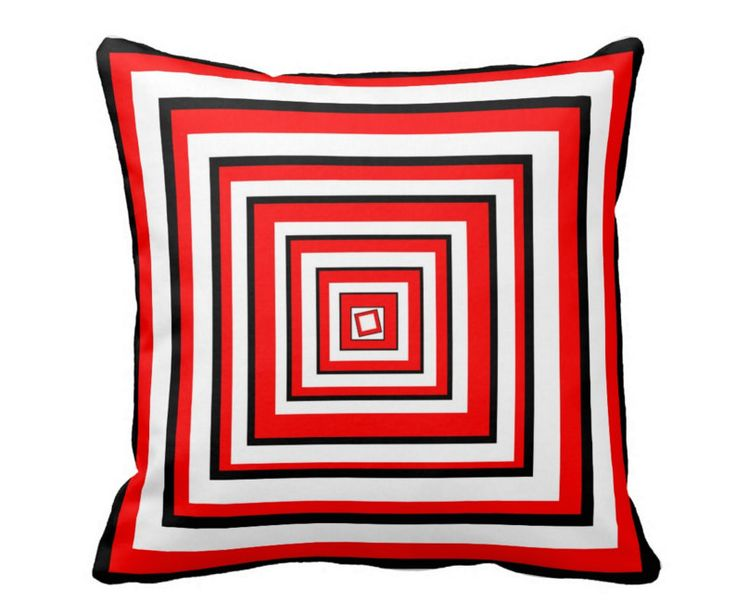 Red Seat Cushion Cover RHONY Throw Pillow Removable Covers Beautiful Red Cushion Covers