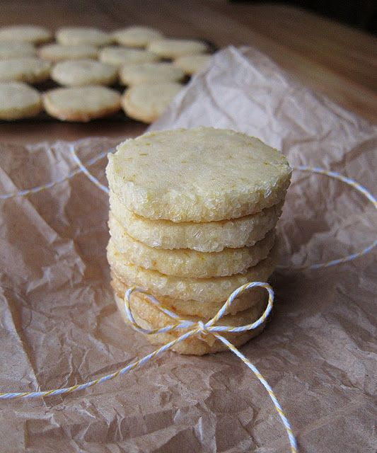 meyer lemon butter cookies - I almost bought meyer lemons this week, now I wish I had!