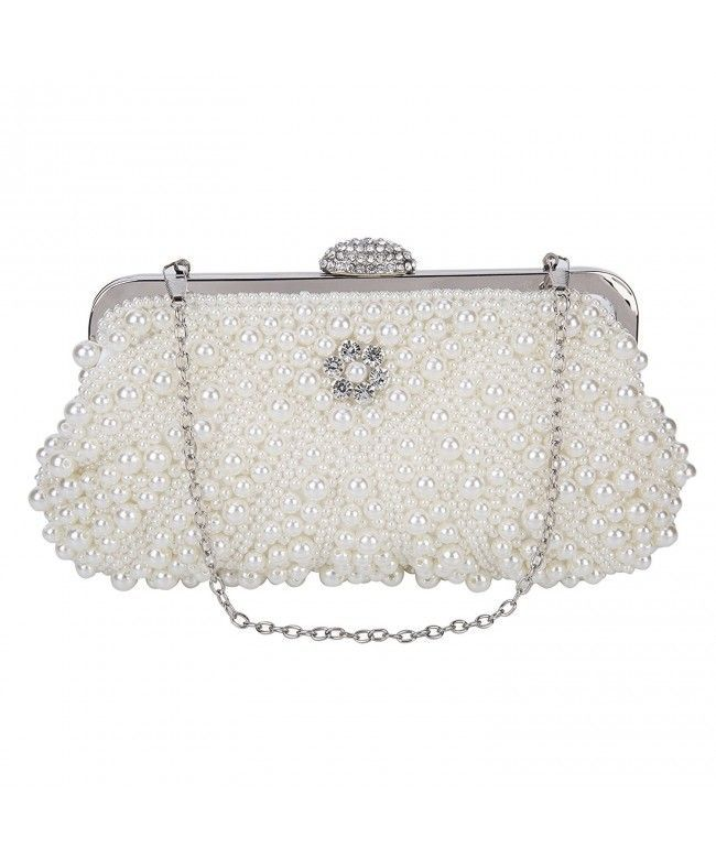 23a054c292 Women's Lace Floral Clutches Evening Bags Purse for Wedding Party Bridal  Handbags - P2-white - CU182QC48MN #Bags #Handbags #ClutchesBags  #EveningBags #Style ...