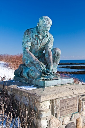 """""""All Maine Lobstermen."""" Lands End Bailey Island, Maine I'VE BEEN THERE!!!!! AH!!! I do miss Maine."""