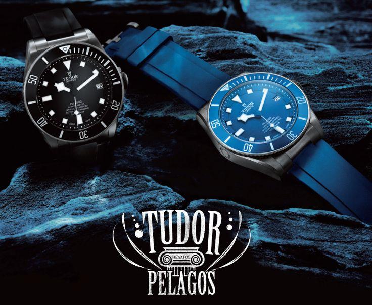 Presentamos el reloj de buceo por excelencia. Descubre el Nuevo Tudor Pelagos.