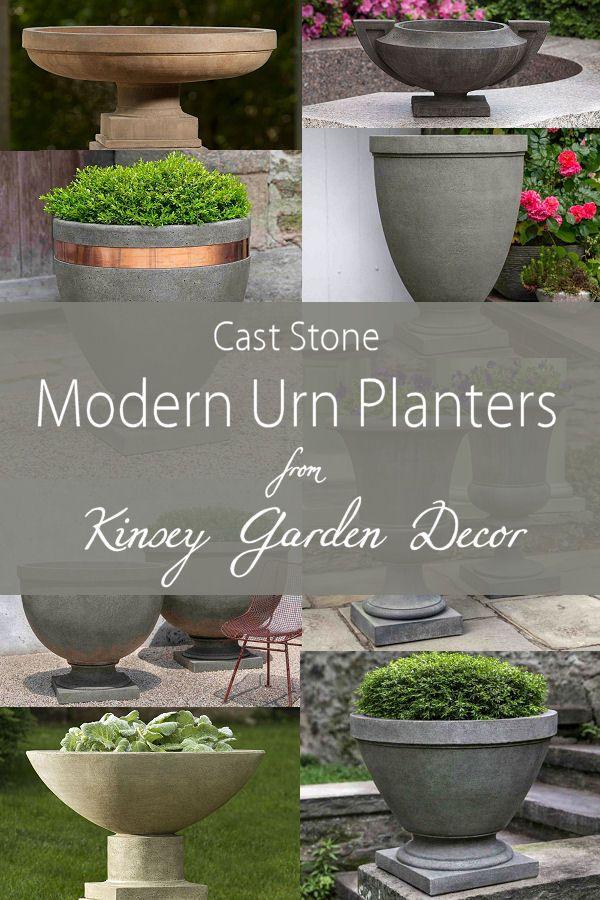 Kinsey Garden Decor Modern Urn Planters Flower Pots Outdoor Urn Planters Planters For Sale