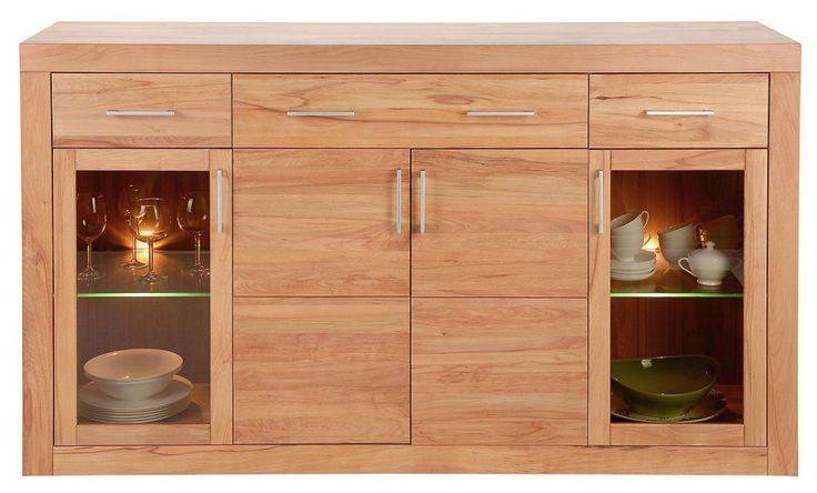 billig sideboard kernbuche deutsche deko pinterest. Black Bedroom Furniture Sets. Home Design Ideas
