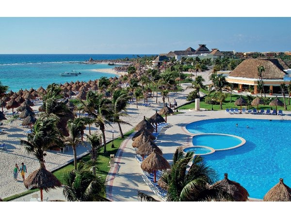 Gran Bahia Principe Tulum in Riviera Maya Mexico. I would highly recommend!
