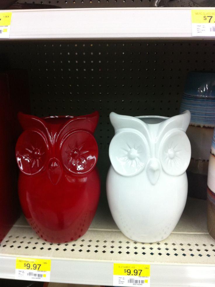 Owl house decoration