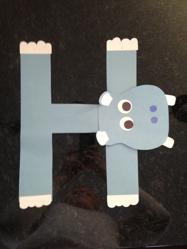 H is for Hippo