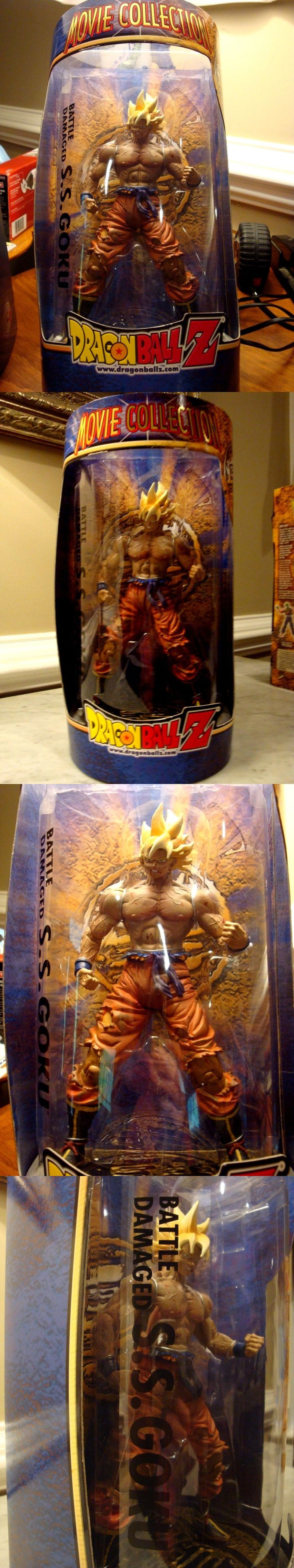 DragonBall Z 7117: Dragon Ball Z Movie Collection Battle Damaged Ss Goku New In Box Nib - Sealed -> BUY IT NOW ONLY: $49.99 on eBay!