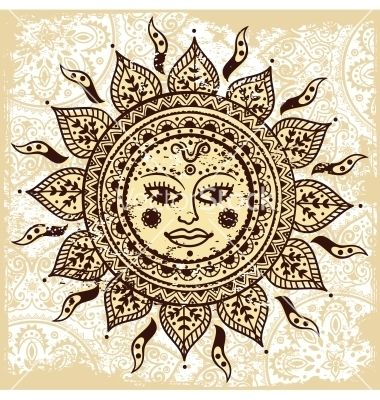 let the sun shine on and in you ...