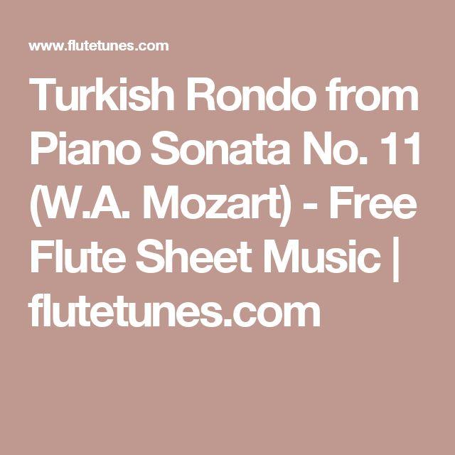 Best 25+ Free Flute Sheet Music Ideas On Pinterest