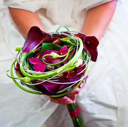 Unique modern bouquet