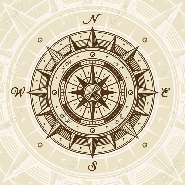 rose des vents antique - Recherche Google | art ... Antique Compass Rose Tattoo