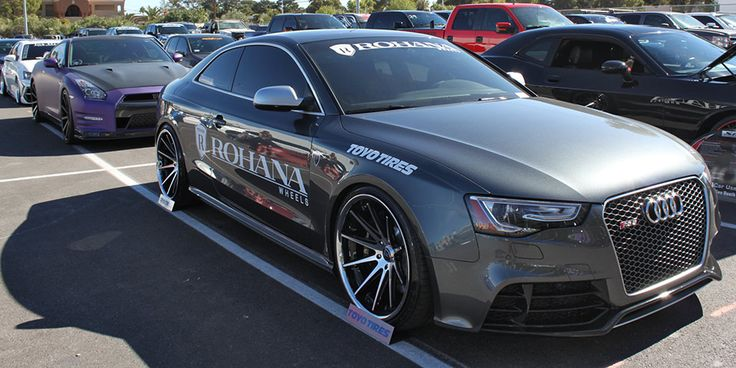 2014 Audi A5 Sema Custom Car For Sale: Rohana Wheel Audi RS 5 At SEMA 2013