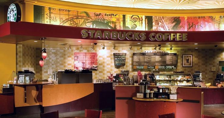 Starbucks - Hours of Operation  Lobby: 24 Hours Daily // The District: 6am - 10pm Daily // West Tower:  Sunday - Thursday 6am - 3am // Friday & Saturday 6am - 6pm