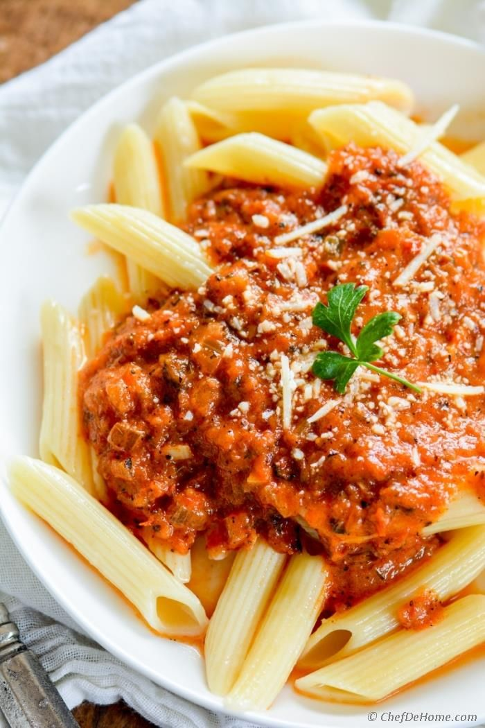 Best Homemade Tomato Sauce from Scratch No preservatives, fresh taste, and can be vegan