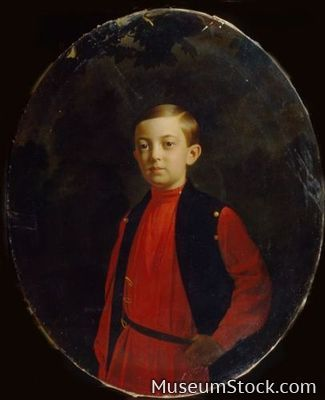 Tsarevich Nicholas Alexandrovich  (1843–1865)  Engaged to Princess Dagmar of Denmark when he died of meningitis at the age of 22. She later married his younger brother Alexander.