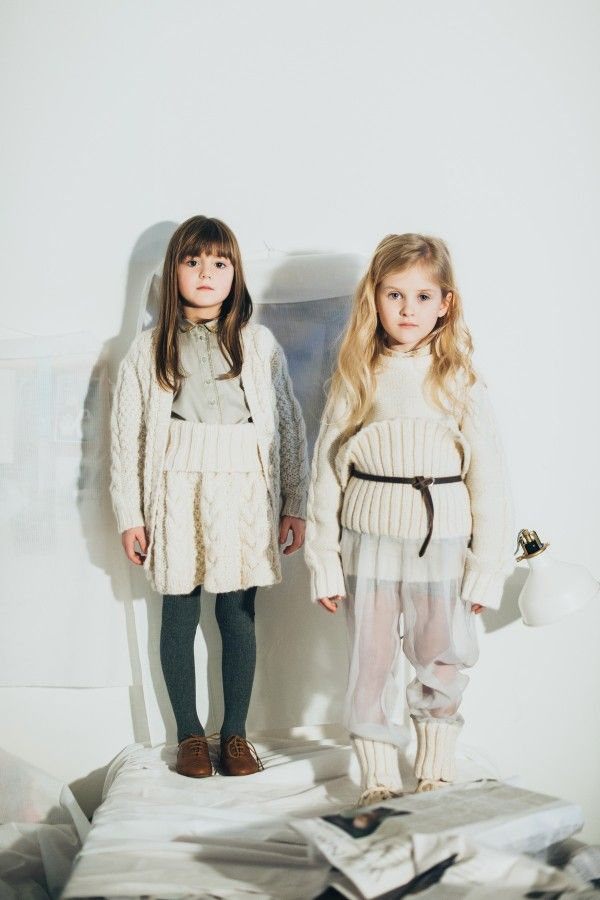 Paade Mode Slide Winter 2014 2015 Marketing Campaign Stylesous Kids Fashion Photography