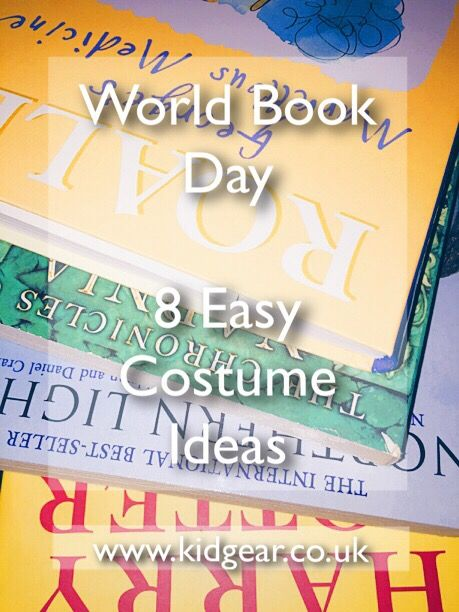 World Book Day – Easy Costume Ideas