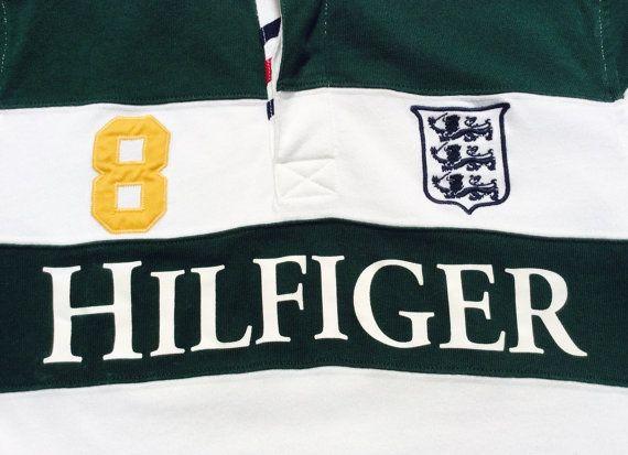 TOMMY HILFIGER RUGBY Polo Sport Vintage stade de par BlackAlert