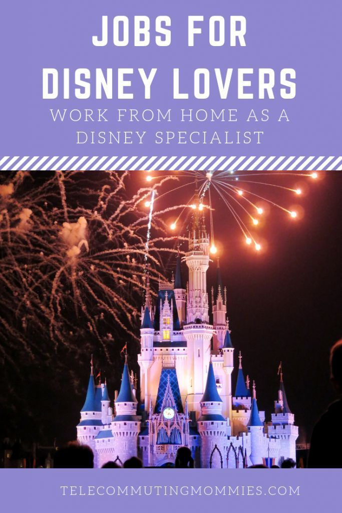 Jobs for Disney Lovers : Work From Home Jobs as Disney Specialists