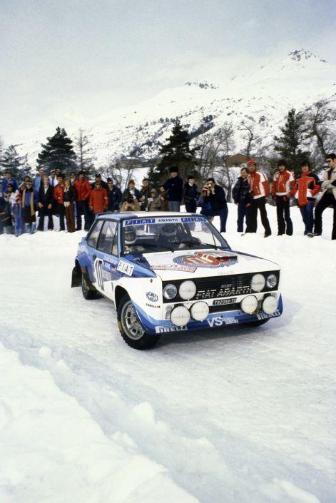 Walter Röhrl, Christian Geistdörfer - Rallye Monte Carlo 1980 - FIAT 131 Abarth