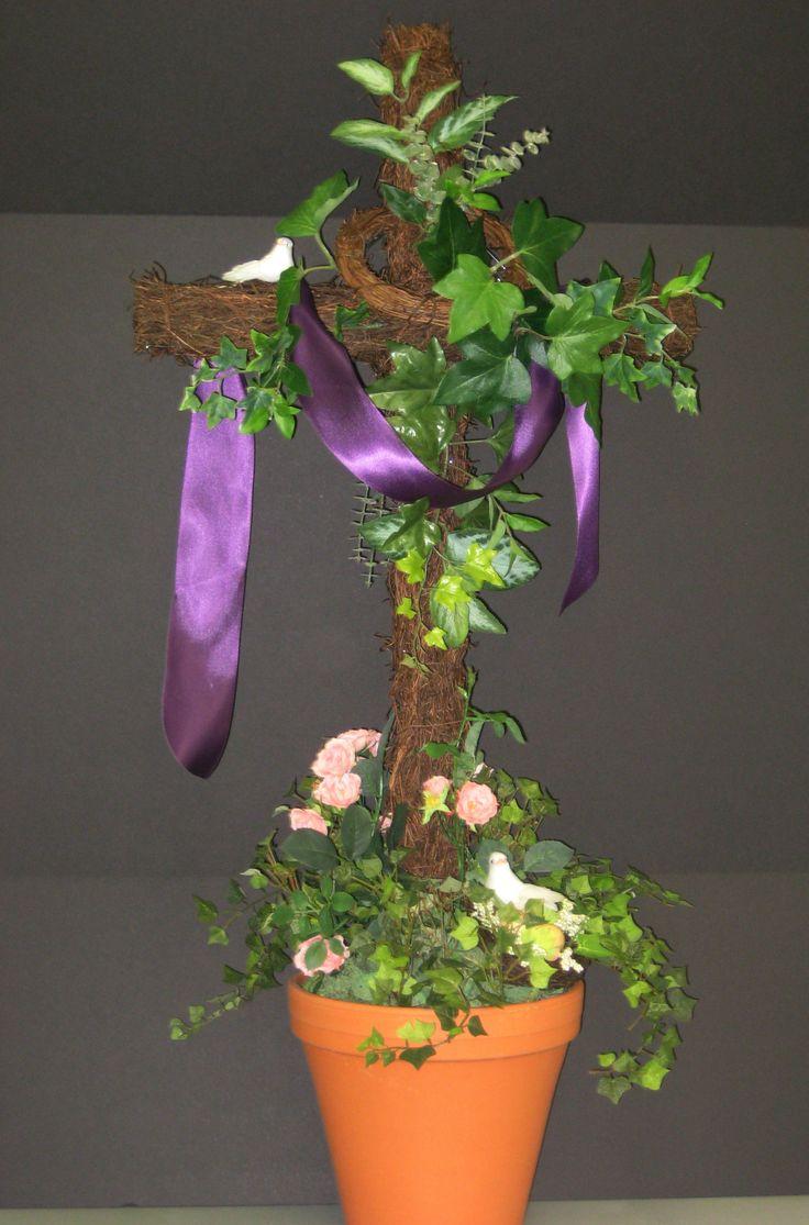 Religious Easter Arrangement By Christina Villasenor