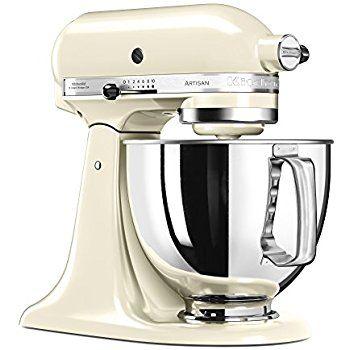Amazon.de: Kitchenaid 5K45SSEWH Küchenmaschine Weiß