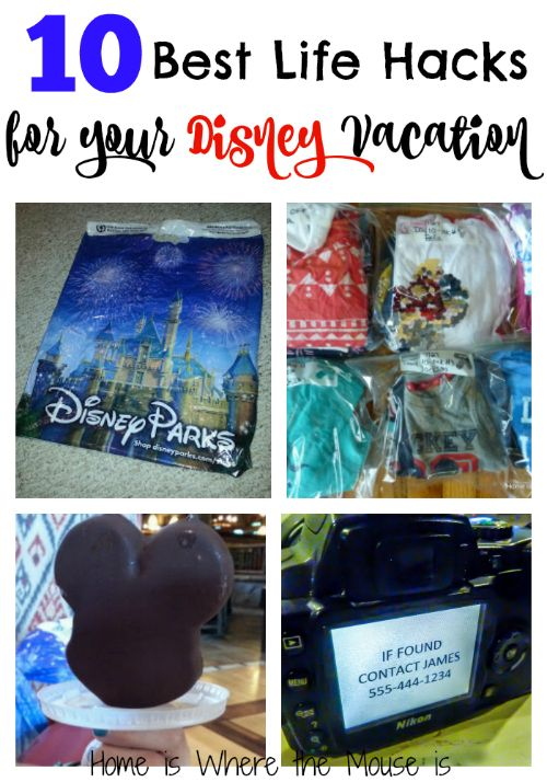 The best Life Hacks that you can put to use on your next Disney Vacation! These are the best of the best that we could find.