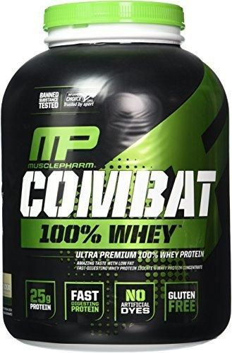 Muscle Pharm Combat 100% Whey Protein Powder Cookies 'n' Cream 5 Pound