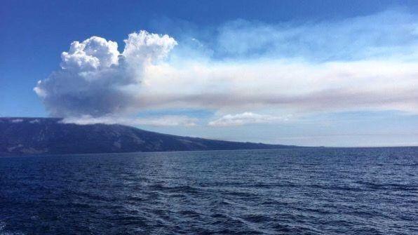 Galapagos (Ecuador) – Si risveglia dopo 8 anni il vulcano dell'isola Fernandina