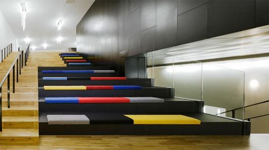 Mucho Color Desestructura Y Dise 241 O Cool En Las Salas De