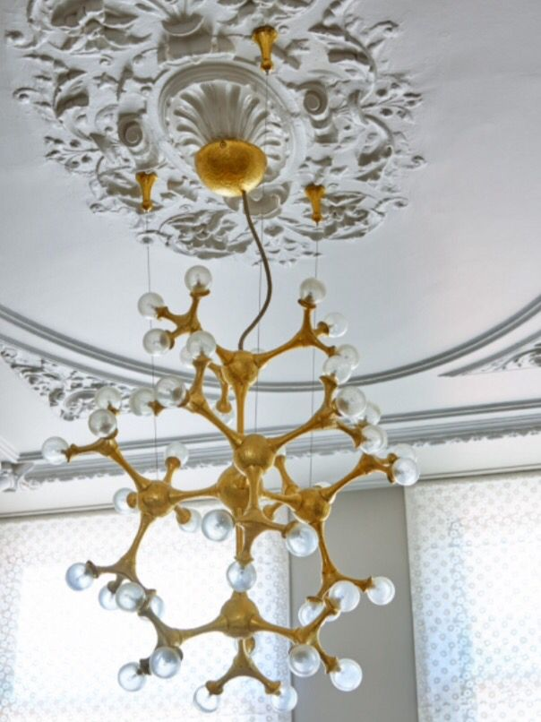 """This marvelous chandelier is from our feature """"Sweet Luxuries"""""""