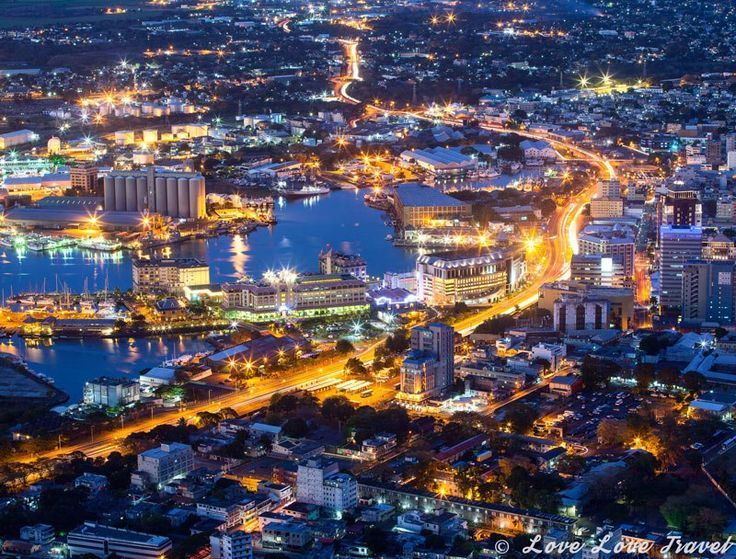 Image result for mauritius city at night