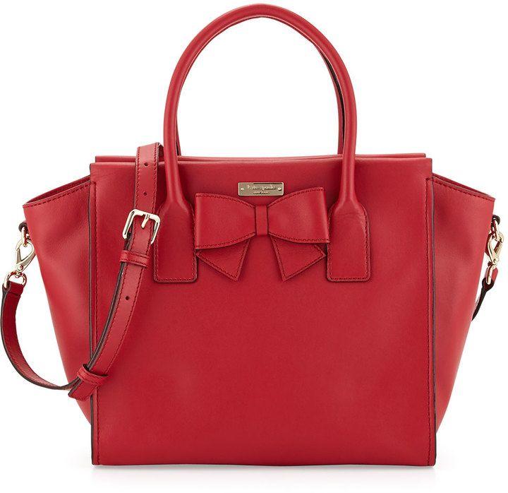 Kate Spade New York Hanover Street Charee Bow Tote Bag | The Ultimate Christmas Gift Guide