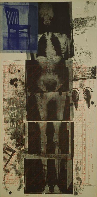 """""""Booster"""" - Robert Rauschenberg   (1967)"""