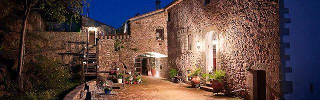 Mas Can Batlle, a small charming hotel in La Garrotxa, Catalonia. chicandrustic.blogspot.com.es