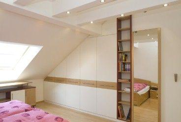 Kleiderschrank in Dachschräge - Optimale Anpassung