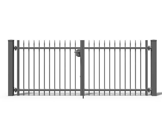 #Metallzaun #Zauntor #Modulares #Gartenzaun #Schmuckzaun #Zaun zweiflügelige Pforte in #Garten; Terrasse, #Gartenzäune; Sichtschutzwände, Gartenzäune | eBay!