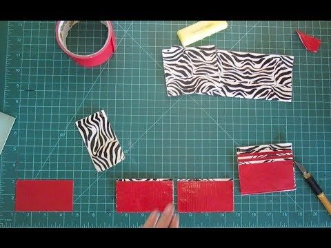 How to Make a Duct Tape Wallet Tutorial: Beginner (Easy ...