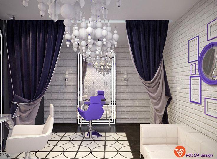 Мы создали новый проект VIP салона красоты! Хорошее освещение, Красивый дорогой интерьер, что еще нужно женщине для счастья?