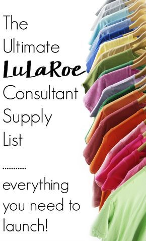 Get ready to start making money! Don't sit idly in the queue. Instead get your career on track with the Ultimate List of LuLaRoe Consultant Supplies!